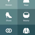 Shopping app categories